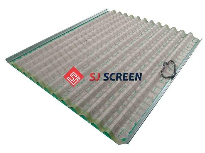 Replacement PMD shale shaker screen for Derrick DP 600 series shale shaker.