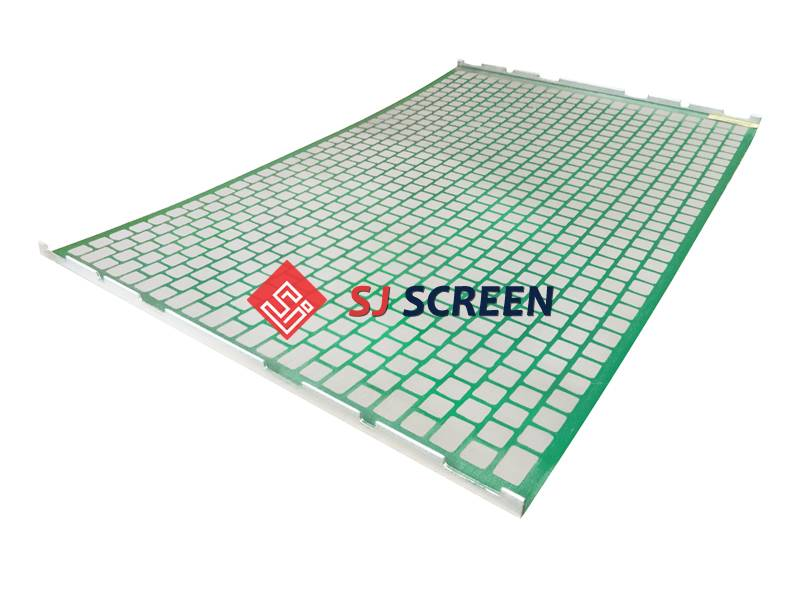 Replacement PWP shaker screen for Derrick FLC 2000/48-30 shale shaker.