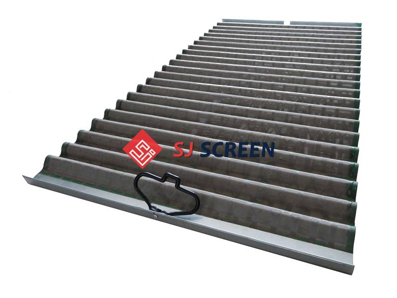 Replacement PMD shale shaker screen for Derrick Hyperpool shale shaker.