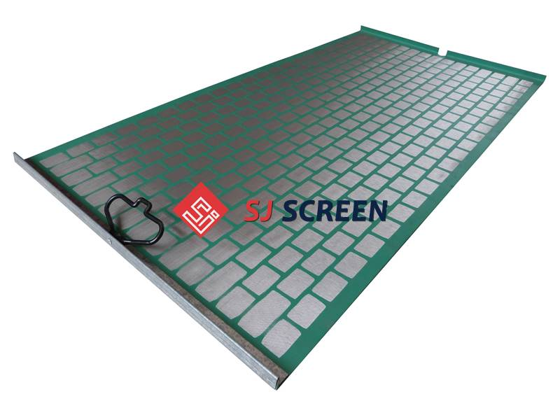 Replacement PWP shale shaker screen for Derrick Hyperpool shale shaker.