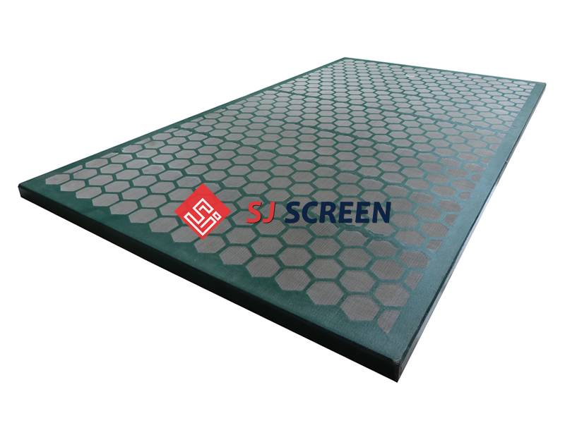 Replacement shaker screen for KEMTRON 28 series shale shaker.