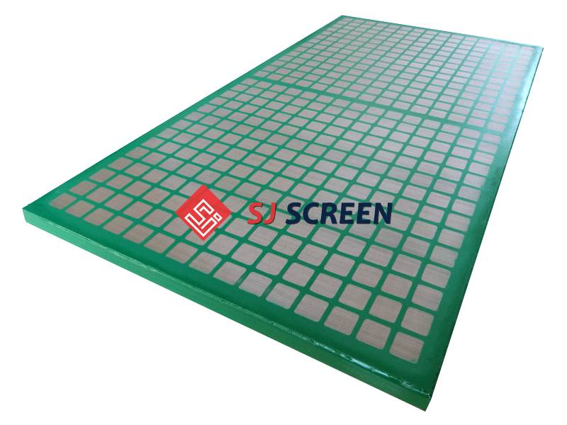 Replacement shaker screen for Scomi prima 3G/4G/5G shale shaker.