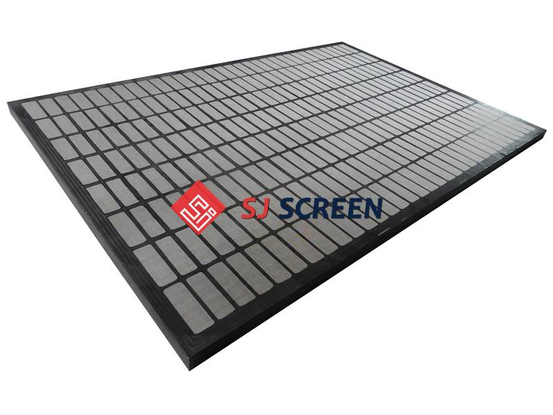 Replacement shaker screen for SWACO MAMUT shale shaker.